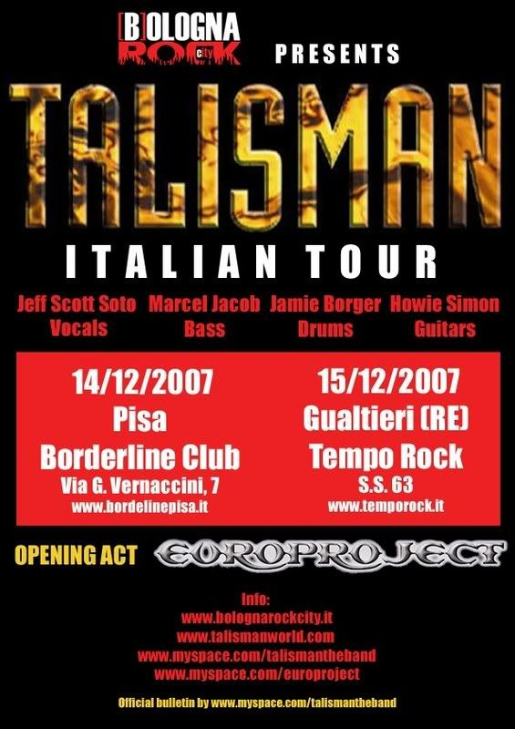 Talisman in Italy!! Talismanbulletin01