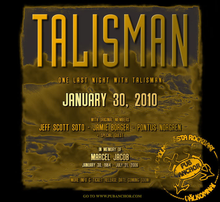Marcel Jacob Memorial Show Talisman