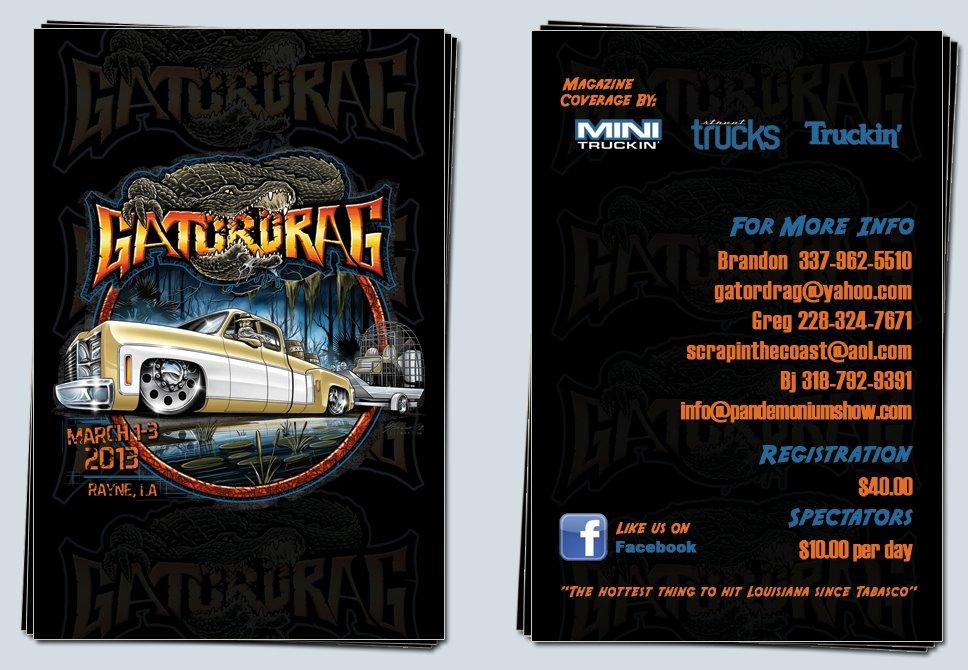 GATORDRAG 2013 Custom Car & Truck Show, Rayne La. 458484_322762364475456_1924582186_o