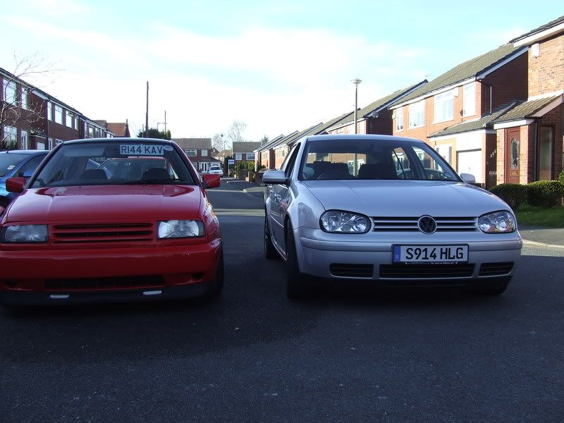 My Car and My Bro's Jens007