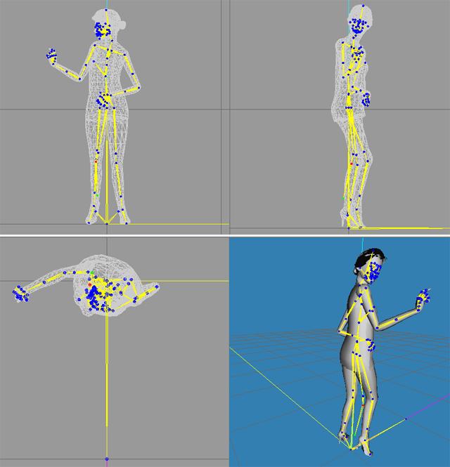 Aide à la création de poses Squelette_pose01