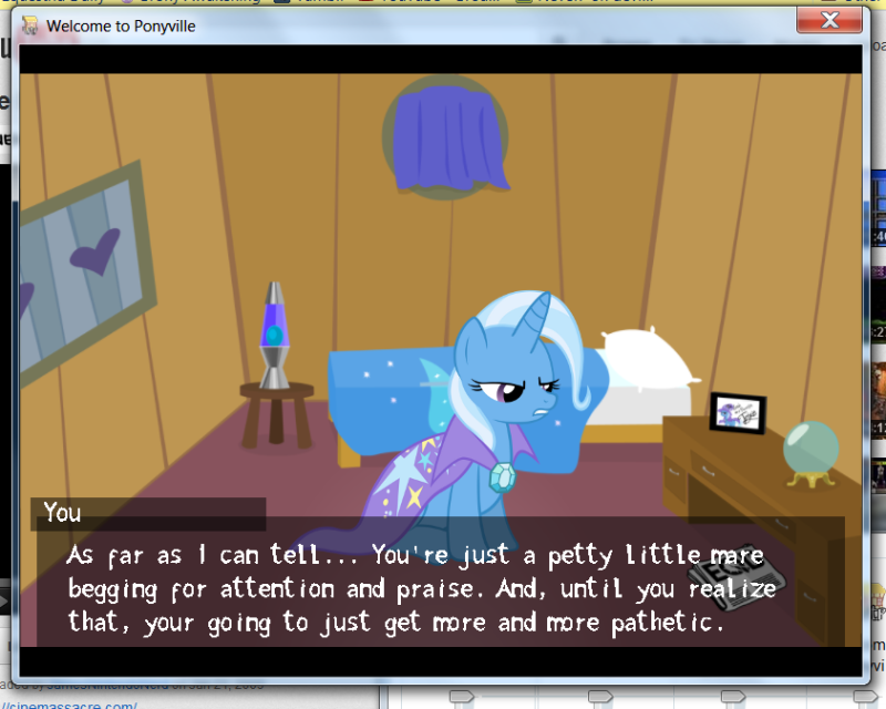 Welcome to Ponyville (Visual Novel)   Preachon_zpsc1fc9500