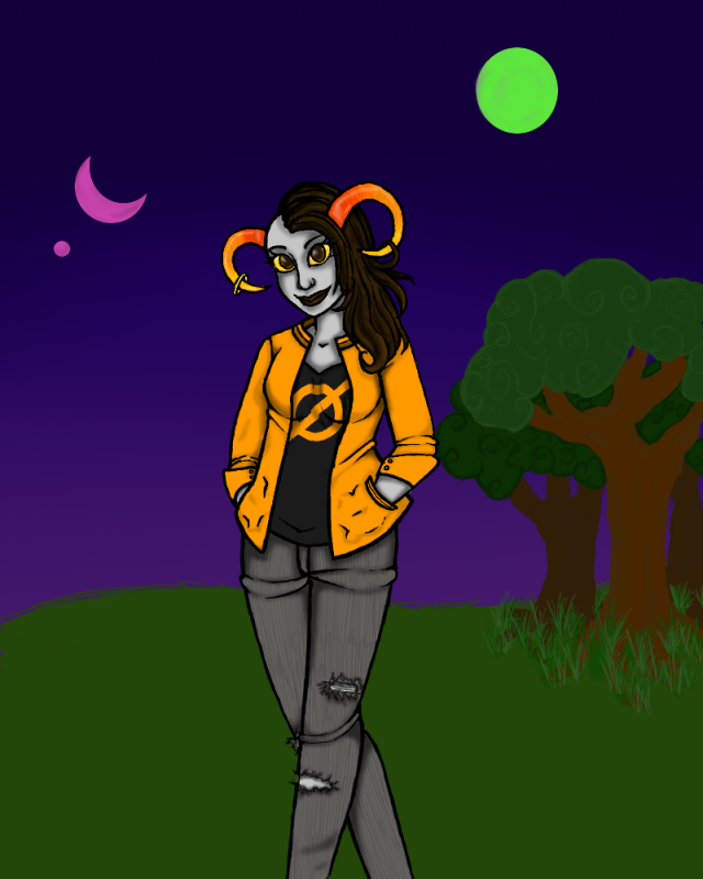 Doodling Lune ShaylaInProgress
