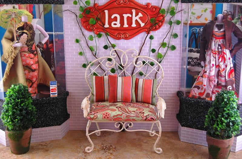 Diorama - mēbeles un noformējums LarkDio1-ed