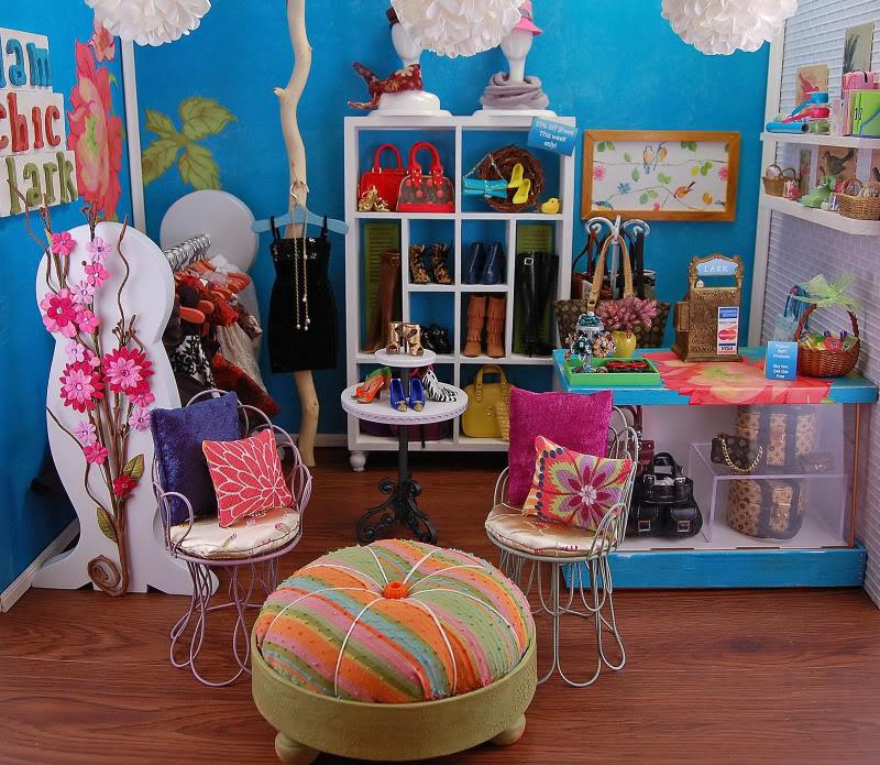 Diorama - mēbeles un noformējums LarkDio2-ed