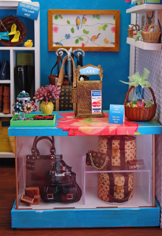 Diorama - mēbeles un noformējums LarkDio3-ed