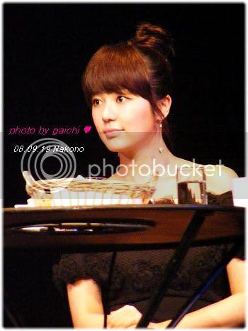 August 2nd, 2008 - Yoon EunHye Opens The First Fan Meeting in Japan DSCF2121