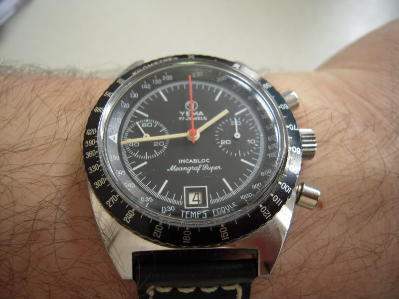 Daytona - chrono Yema vintage DSCN0063