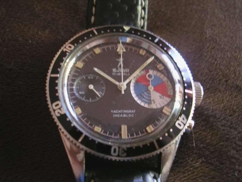 Daytona - chrono Yema vintage Lejour1