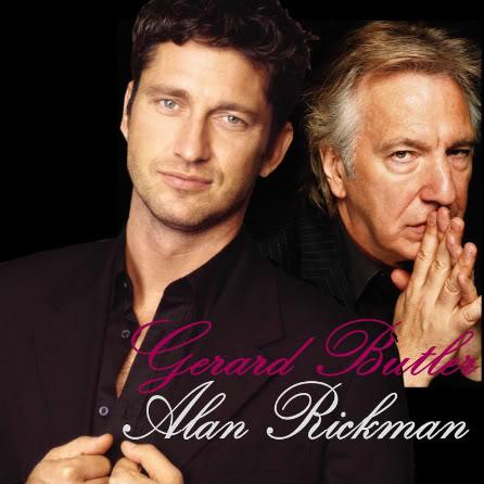 Alan Rickman meets Gerard Butler