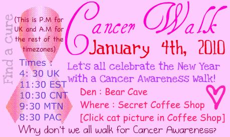 Cancer Walk! Unt-1