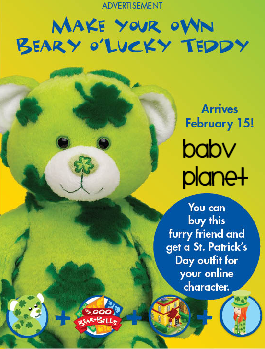 Beary O' Lucky Teddy Untitled-156