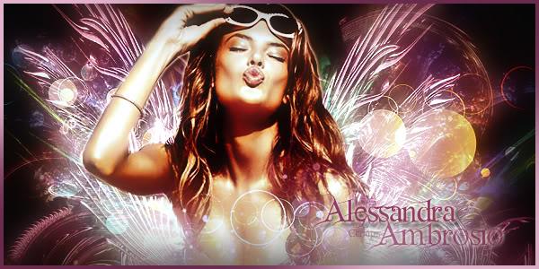 [THUNDER] Opening Diva Match AlessandraAmbrosio1