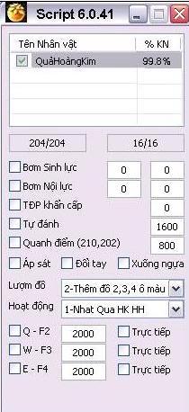 Auto Nhặt Quả Hoàng Kim Quả huy Hoàng Phiên Bản 7.0.14 AutoNhtQHK