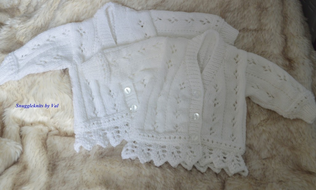 Just a few of the knits that I have been making over the past months 2%20x%20lace%20edged%20cardigans