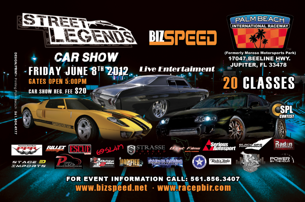 Street Legends Domestic VS Imports Track Event and Car Show Friday June 8th Streetlegends2-1