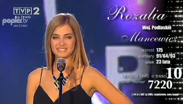 Rozalia Mancewicz (POLAND UNIVERSE 2011 and INTERNATIONAL 2012) Galanr10