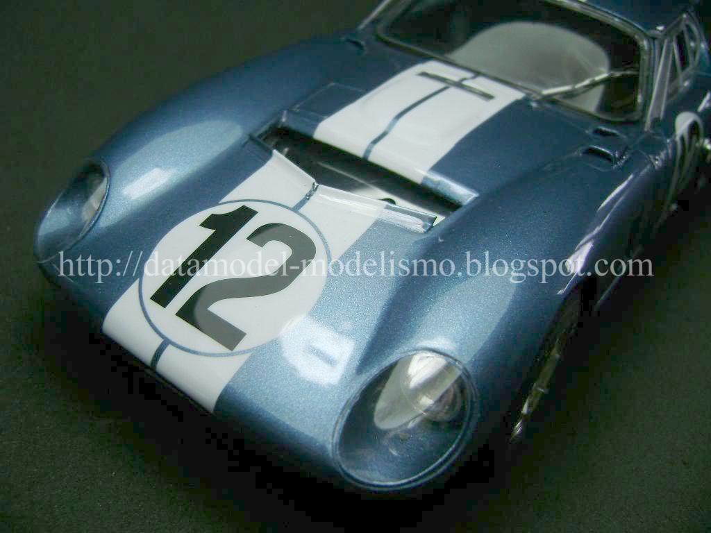 Daytona Cobra Le Mans 1965. Model Factory Hiro 1/24 DSC00970