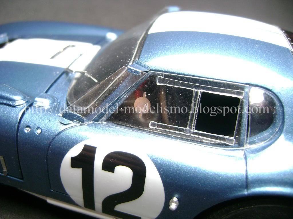 Daytona Cobra Le Mans 1965. Model Factory Hiro 1/24 DSC00971