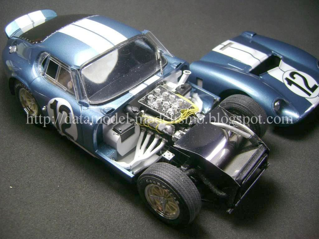 Daytona Cobra Le Mans 1965. Model Factory Hiro 1/24 DSC00977