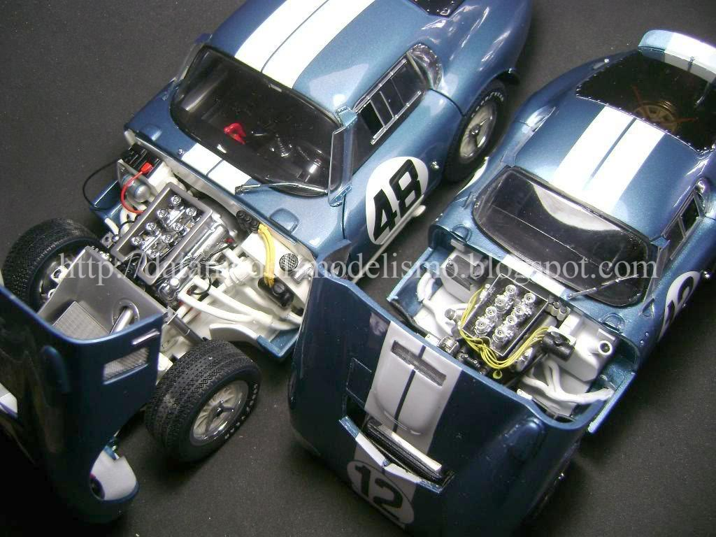 Daytona Cobra Le Mans 1965. Model Factory Hiro 1/24 DSC00983