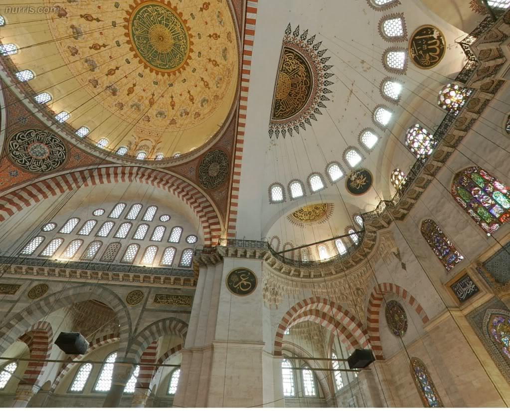شاهد أحد المساجد من الداخل بصورة ثلاثية الأبعاد بصيغة فلاش 3d