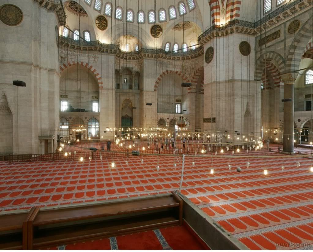 شاهد أحد المساجد من الداخل بصورة ثلاثية الأبعاد بصيغة فلاش D3