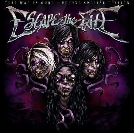 Escape the Fate - This War Is Ours [Album Review] ETFDE