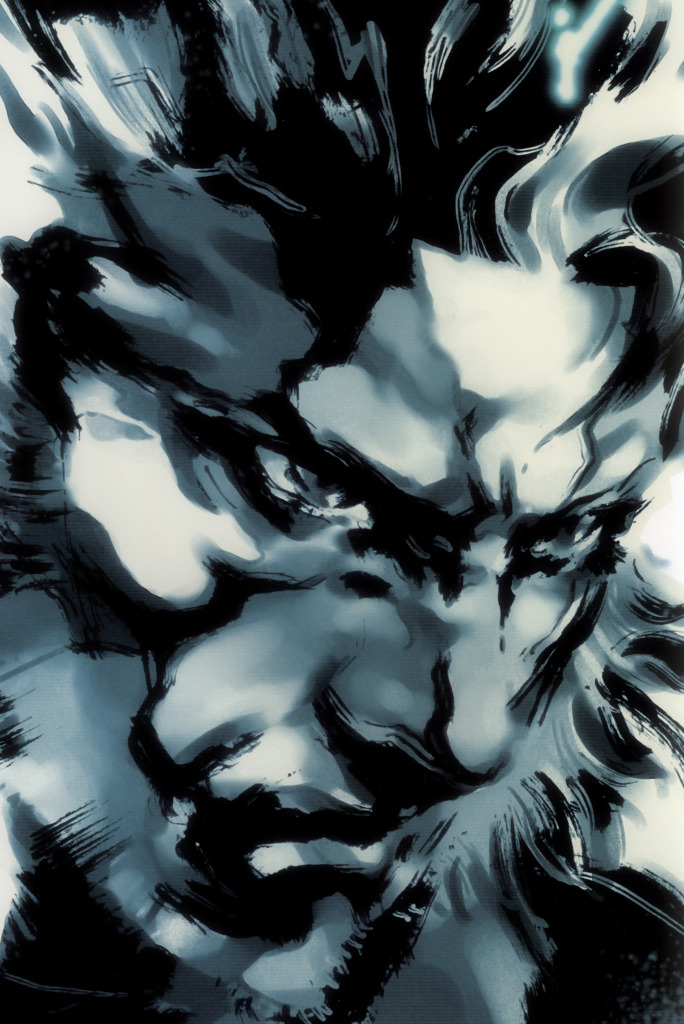 Ilustraciones de Yoji Shinkawa Art_of_MGS2-0015