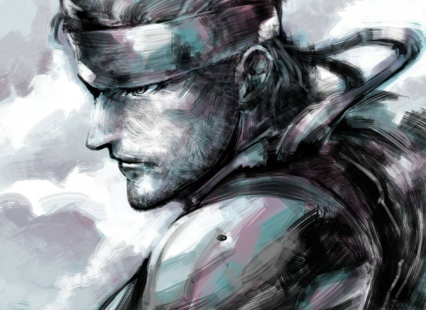 Fan arts de Metal Gear SolidSnakefull425284_zps17aa3658