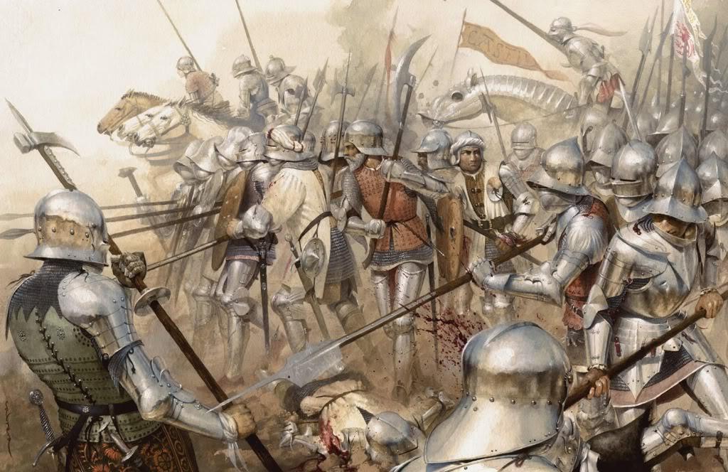 Armaduras y armas de los caballeros Almenatorodoble280ppp