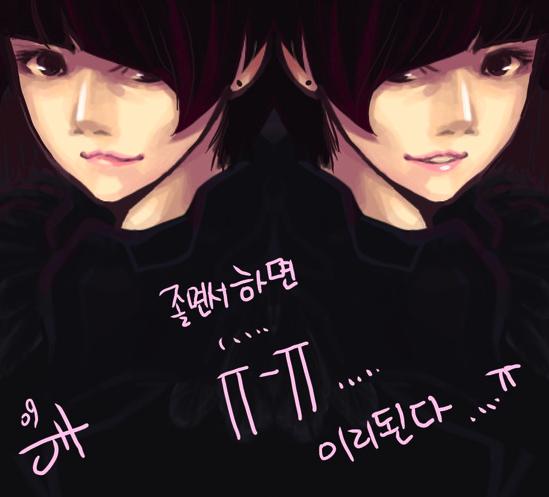 Chibi fanart của b. trẻ Key ~Kim Ki Bum 2h7050i