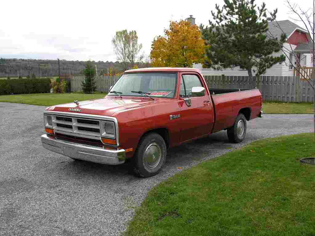 Dodge Ram 1988 4-3