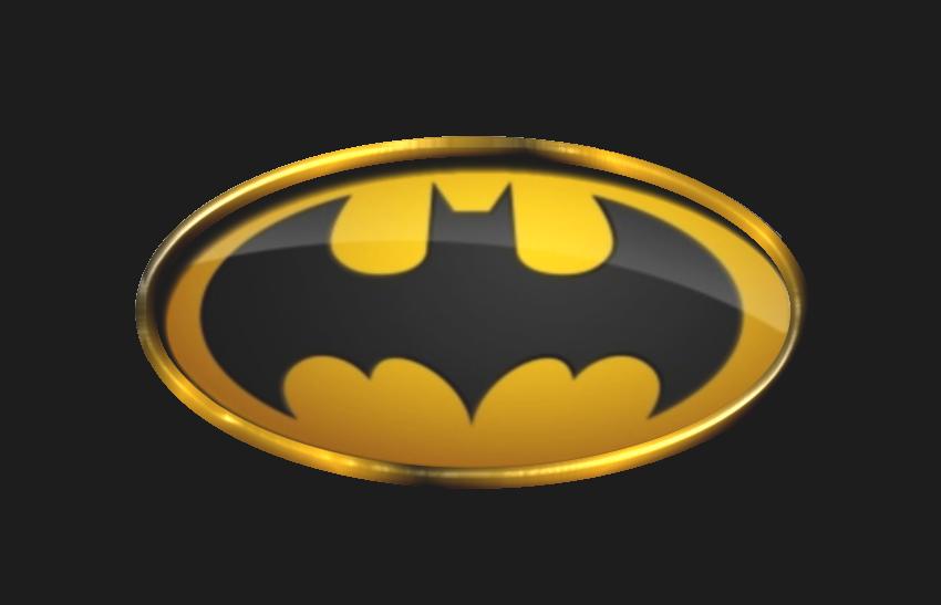 Batman custom table Table-batman