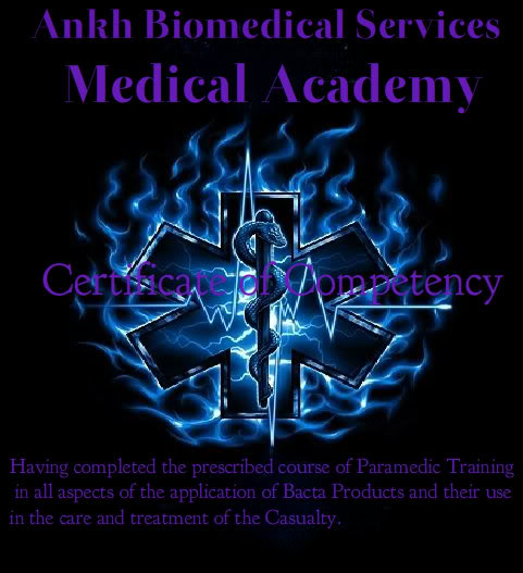 Ankh Biomedical Services ~ Medical Staff Training Handbook Paramedicemt-1