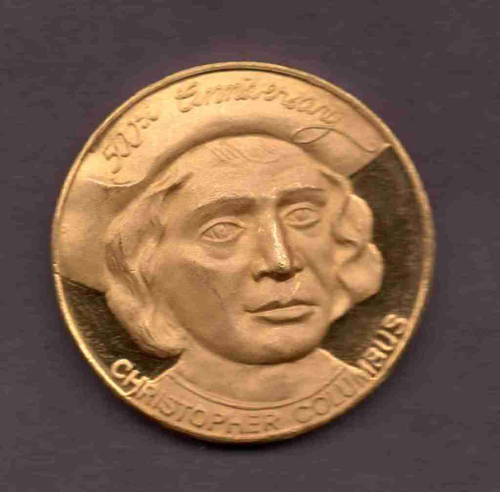 Medalla 500th anniversary Christopher Columbus 1412-1992 MAU019