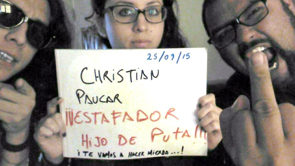 CHRISTIAN FELIPE PAUCAR TOLEDO !!! - ESTAFADOR INTERNACIONAL DE BANDAS Y SELLOS DISCOGRÁFICOS - RIP OFF ! 1613940_10156079339845284_7219445408718275716_n_zpsahyrn22c