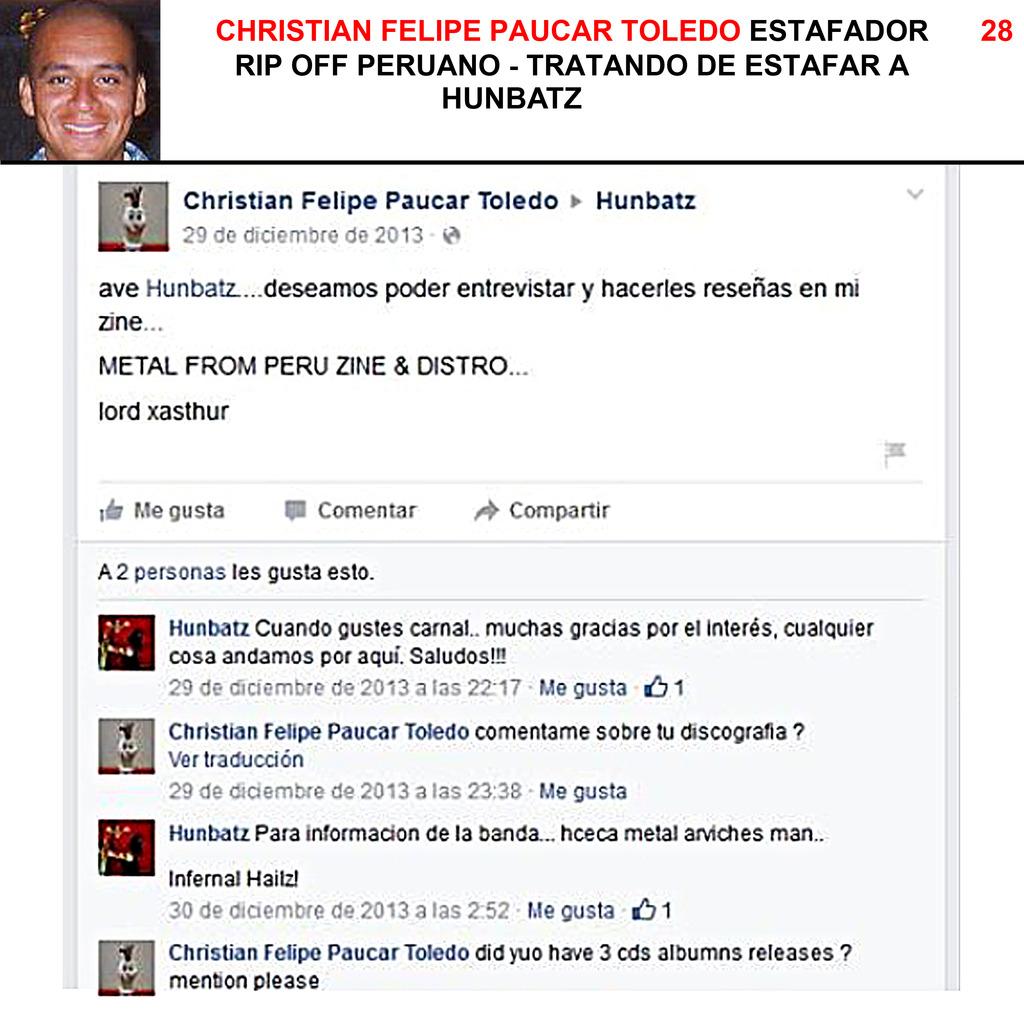 CHRISTIAN FELIPE PAUCAR TOLEDO !!! - ESTAFADOR INTERNACIONAL DE BANDAS Y SELLOS DISCOGRÁFICOS - RIP OFF ! 28%20Hunbatz_zpstl90xnnk