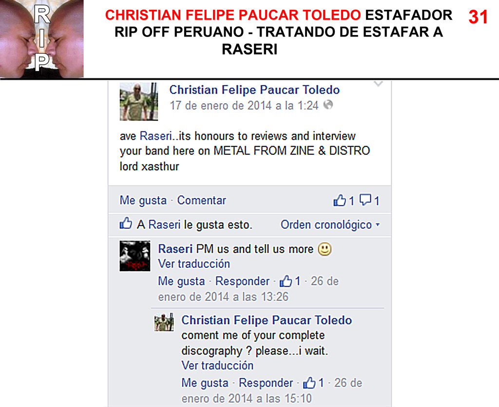 CHRISTIAN FELIPE PAUCAR TOLEDO !!! - ESTAFADOR INTERNACIONAL DE BANDAS Y SELLOS DISCOGRÁFICOS - RIP OFF ! 31%20Raseri_zpso8hy6iaf