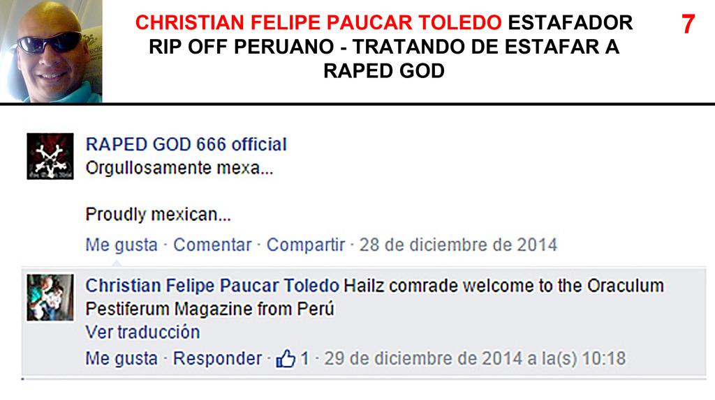 CHRISTIAN FELIPE PAUCAR TOLEDO !!! - ESTAFADOR INTERNACIONAL DE BANDAS Y SELLOS DISCOGRÁFICOS - RIP OFF ! 7_zpsywi9jw6z