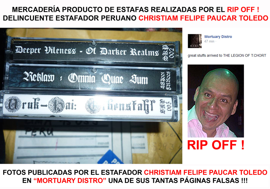CHRISTIAN FELIPE PAUCAR TOLEDO !!! - ESTAFADOR INTERNACIONAL DE BANDAS Y SELLOS DISCOGRÁFICOS - RIP OFF ! Stolen_stuff14_zpsfhhetj0x