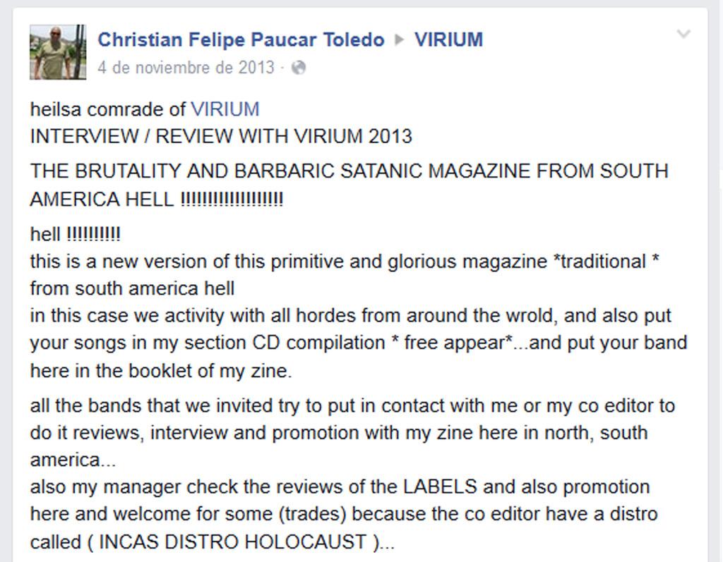 CHRISTIAN FELIPE PAUCAR TOLEDO !!! - ESTAFADOR INTERNACIONAL DE BANDAS Y SELLOS DISCOGRÁFICOS - RIP OFF ! Virium1_zpsl9pfxgsm