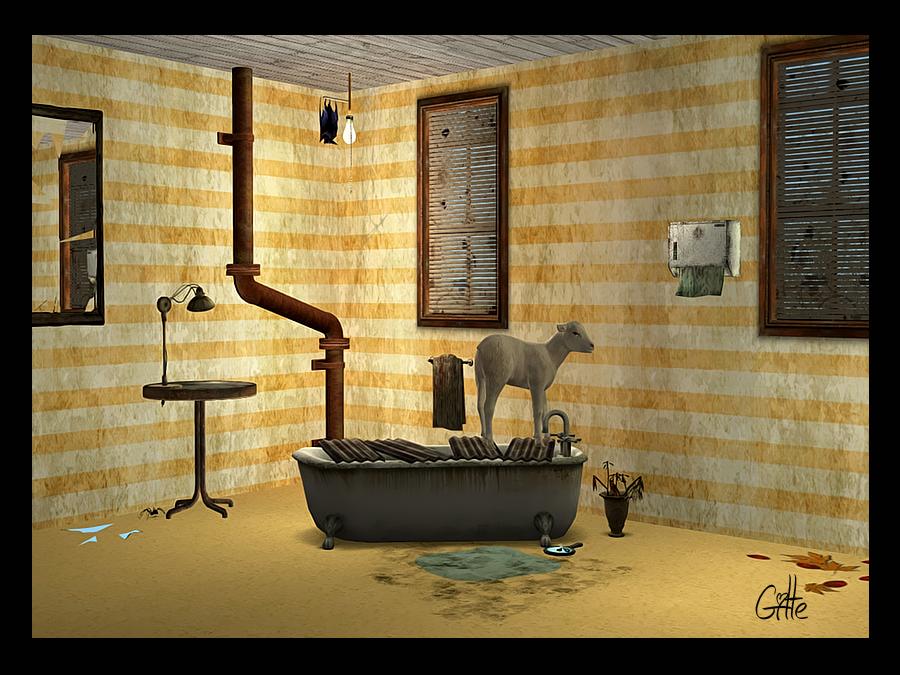 Dirty stripes wallpaper GSC