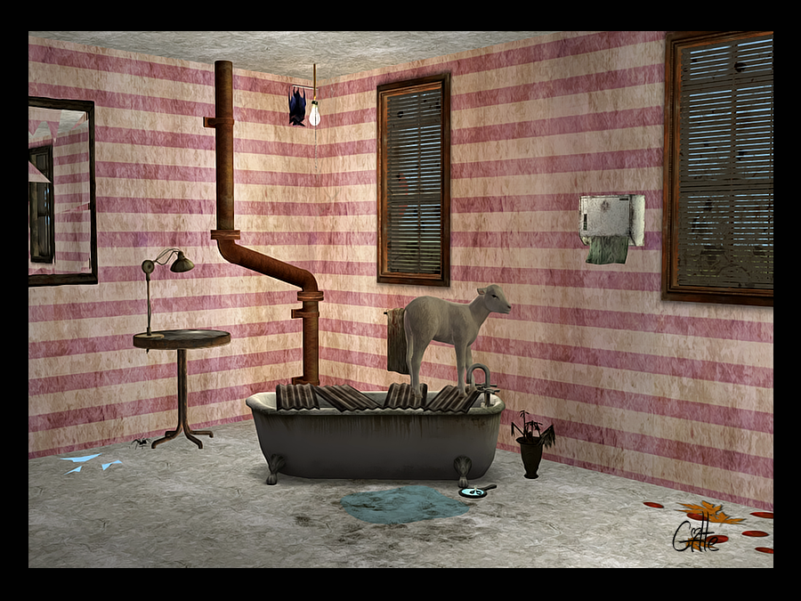 Dirty stripes wallpaper Gsd