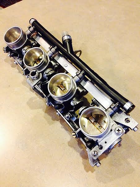 K1100 throttle bodies on a K100 - Page 2 K1100CarbsAfter2_zps6d4833da