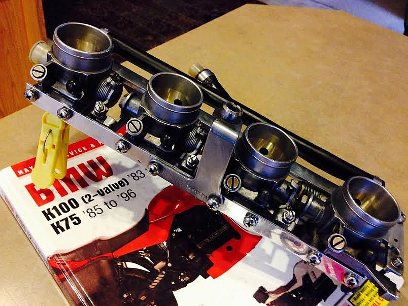 K1100 throttle bodies on a K100 - Page 2 K1100CarbsAfter5_zpsf3cbf9d0