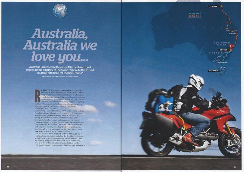 Tasmania 2014 - Page 2 BikeMagazineJuly2014_zps22ed7883