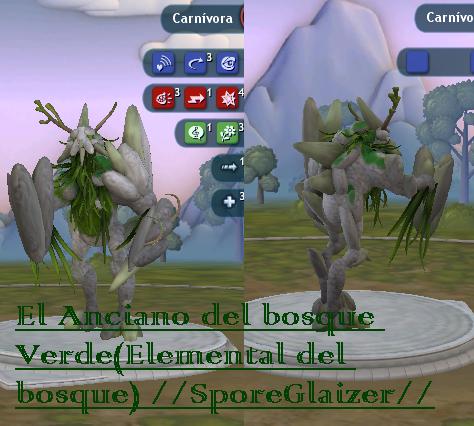 Glaizer: Anciano del bosque verde(elemental del bosque)/reto SporeGlaizer vs Metacheto Anciano%20del%20bosque_1