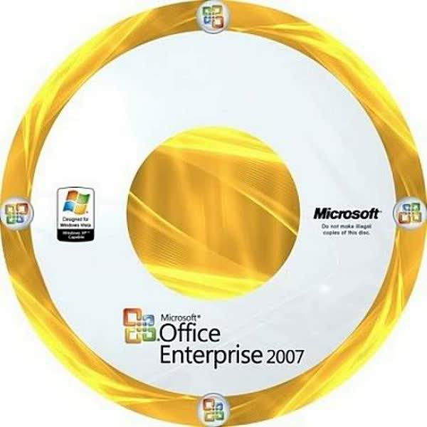 Microsoft Office Enterprise 2007 Including Internet Explorer 8 PORTABLE  Office2007_CD