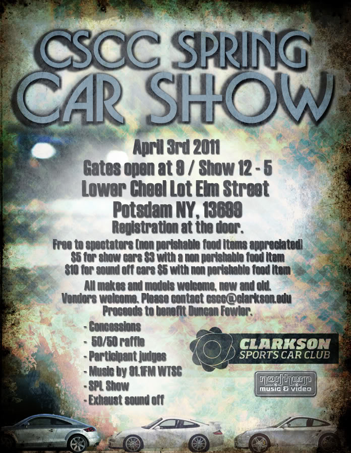 Flyer Advertisement Thing Carshow_2011